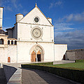 The Papal Basilica Of St. Francis Of Assisi  by Jaroslav Frank