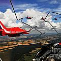 The Red Arrows  by Paul Fearn