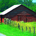 The Red Barn by Kathy R Thomas