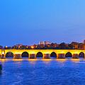 The Roman Bridge In Cordoba by Karol Kozlowski
