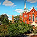 Once A Way To Heaven The Sacred Heart Cultural Center Augusta Georgia Art by Reid Callaway