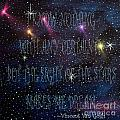 The Sight Of The Stars Makes Me Dream by Barbara Griffin