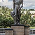 The Spartan Statue At Msu by John McGraw