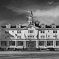 The Stanley Hotel Panorama Bw by James BO Insogna