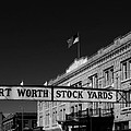 The Stock Yards Of Fort Worth by Mountain Dreams