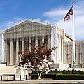 The Supreme Court Facade by Lois  Ivancin Tavaf