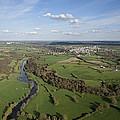 The Sèvre River, Tiffauges by Laurent Salomon