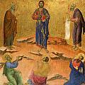 The Transfiguration by Duccio
