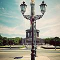 The Victory Column In Berlin Germany by Michal Bednarek