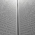 The Vietnam Memorial Wall by Cora Wandel