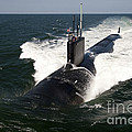 The Virginia-class Attack Submarine Uss by Stocktrek Images