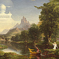The Voyage Of Life Youth by Thomas Cole