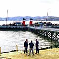 The Waverley Sails Down The River Clyde by David Cairns