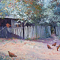 The White Picket Fence by Jan Matson