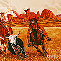 The Wranglers by Dick Bobnick