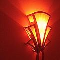 Theater Homage Art Deco Lighting Fixture Fox Tucson Tucson Arizona 2006 Grand Reopening by David Lee Guss