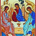 Three Angels by Munir Alawi