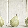 Three Pear by Edward Fielding
