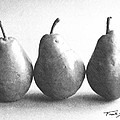 Three Pears by Frank Wilson