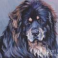 Tibetan Mastiff by Lee Ann Shepard