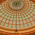 Tiffany Dome Chicago Cultural Museum by Eleanor Abramson