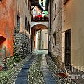 Tight Alley With A Bridge by Mats Silvan