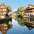 Timbered Buildings, La Petite France by Miva Stock