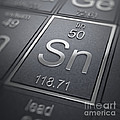 Tin Chemical Element by Science Picture Co
