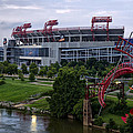 Titans Lp Field by Diana Powell