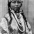 Tlakluit Indian Woman Circa 1910 by Aged Pixel