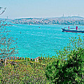 Topkapi Palace Wall Along The Bosporus In Istanbul-turkey  by Ruth Hager