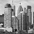 Toronto On Skyline by Bill Cobb