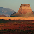 Tower Butte At Sunset, Glen Canyon by Michel Hersen