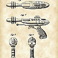 Toy Ray Gun Patent 1952 - Vintage by Stephen Younts