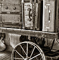 Train Station Luggage Cart by Imagery by Charly