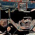 Train Wheels by Beth Sanders