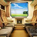 Travel In Comfortable Train. by Michal Bednarek
