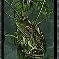 Tree Frog by Karen Sheltrown