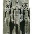 Triad Of Menkaure Mycerinus by Everett
