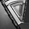 Triangle Staircase by Jaroslaw Blaminsky
