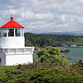 Trinidad Head Light House On The Coast by Panoramic Images