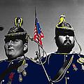 Troopers Indian Wars Memorial Encampment Ft. Lowell Tucson Arizona 1970-2008 by David Lee Guss