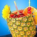 Tropical Drink by Joe Belanger