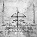 Turkey: Hagia Sophia, 1830s by Granger