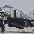 Turkish Air Force F-4 Phantom Landing by Giovanni Colla