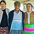 Turkish Family In Demircidere Koyu In Kozak-turkey  by Ruth Hager