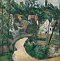 Turn In The Road by Paul Cezanne