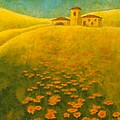 Tuscan Gold 2 by Pamela Allegretto