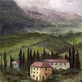 Tuscan Landscape by Terri  Meyer