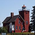 Two Harbors Lighthouse by Lori Tordsen